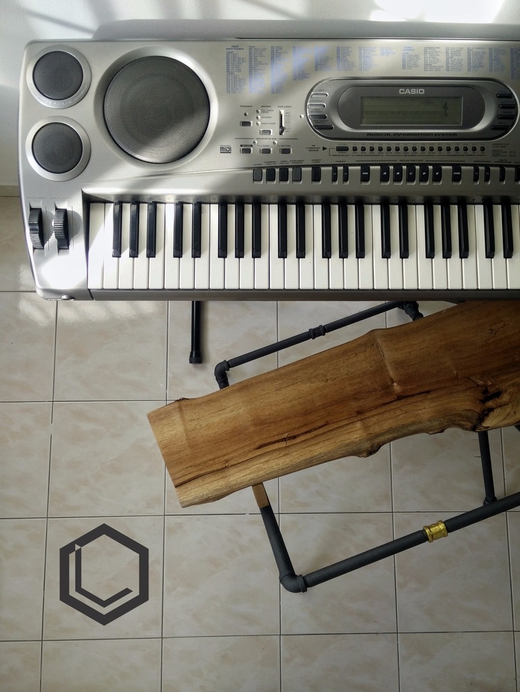 Time Oct17' piano bench. Solid  - blueleong | ello