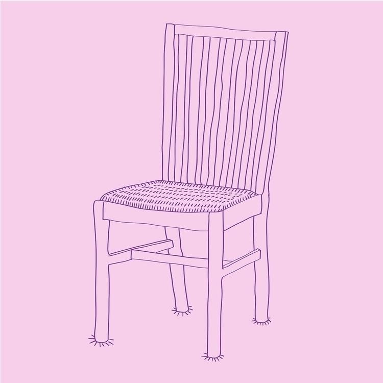 Chairs Inktober Day 6 - illustration - nigli | ello