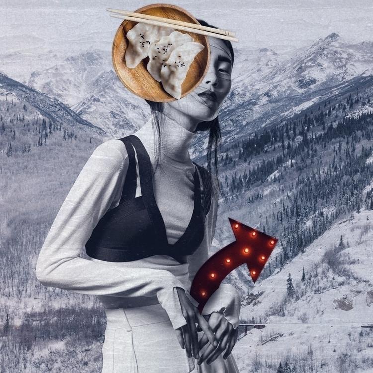 Fatetroppobelle, collage, art - fatetroppobelle | ello