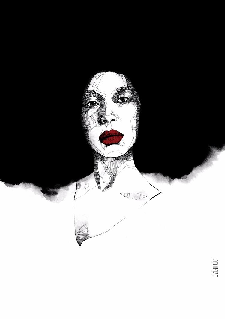 Portrait amazing) Erykah Badu.  - sacruna | ello