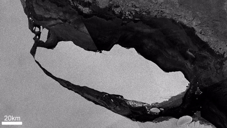 Ruptura de iceberg la Antártida - codigooculto | ello
