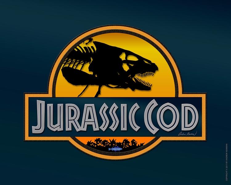 Jurassic Cod version Park Cape  - capecard | ello