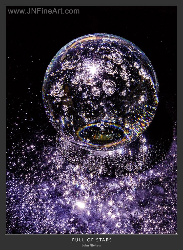 Crystal ball air bubbles wet, w - armadillo7 | ello