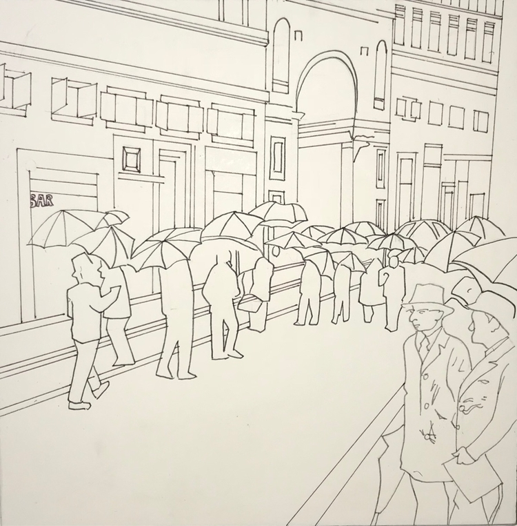 coloring book - illustration, cartoon - whitneysanford | ello