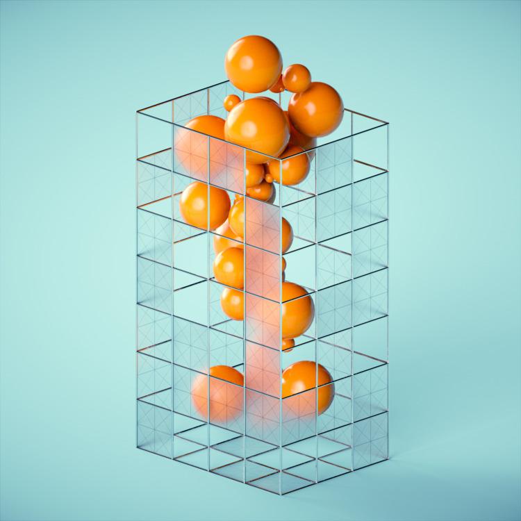 Juice. graphics - cinema4d, c4d - ionsounds | ello