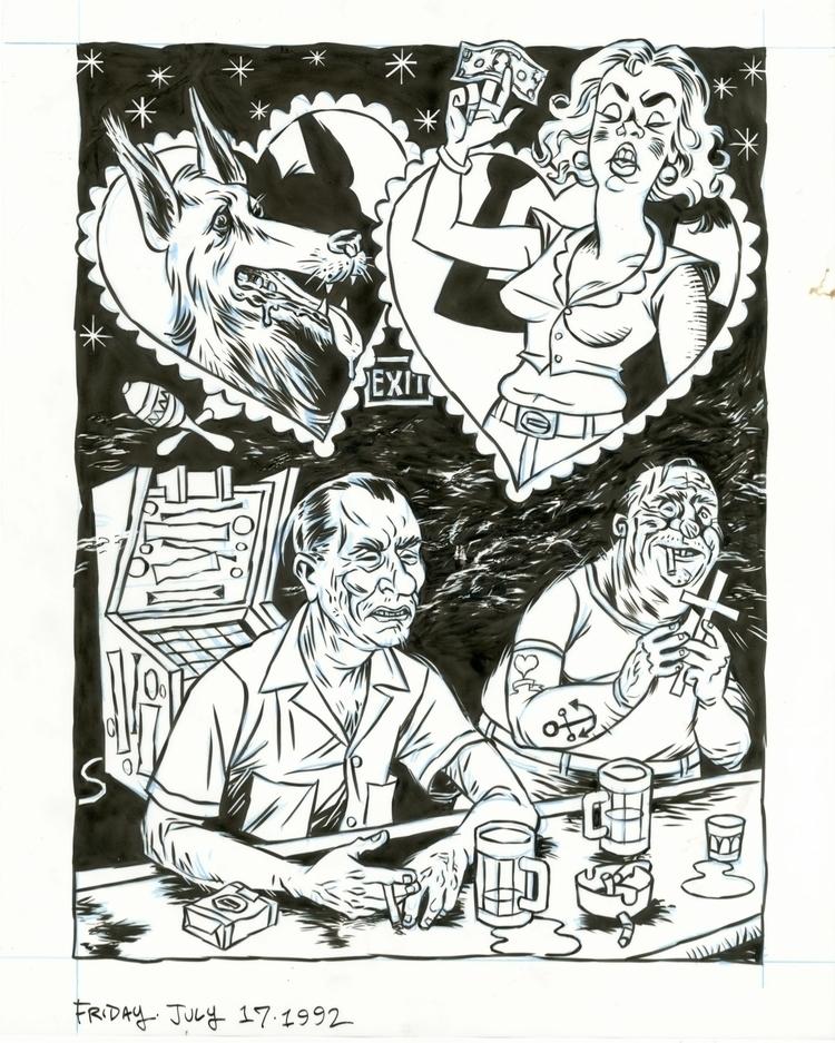 Bukowski Valentine, 7/17/92. il - dannyhellman | ello