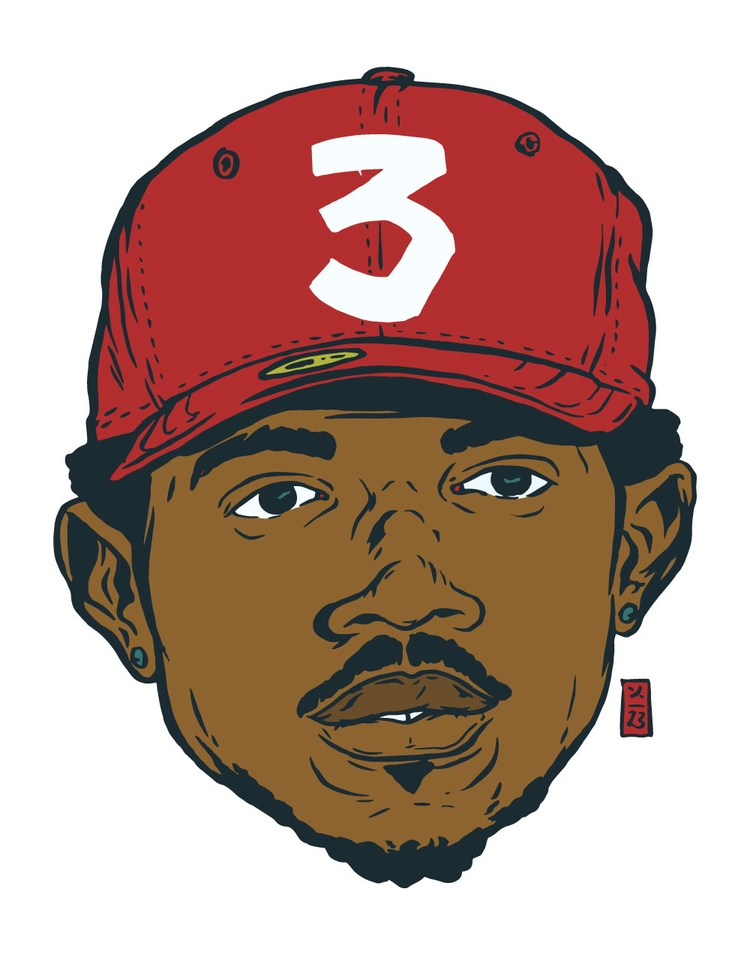 Chance Rapper - illustration - thomcat23 | ello