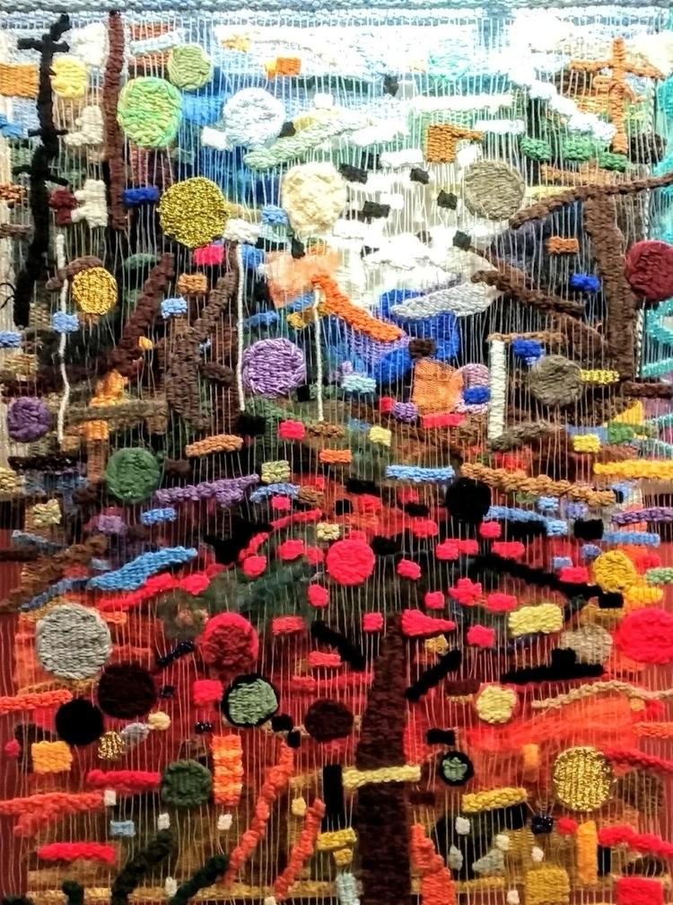 multi layer tapestry Susan Kleb - susanklebanoff | ello