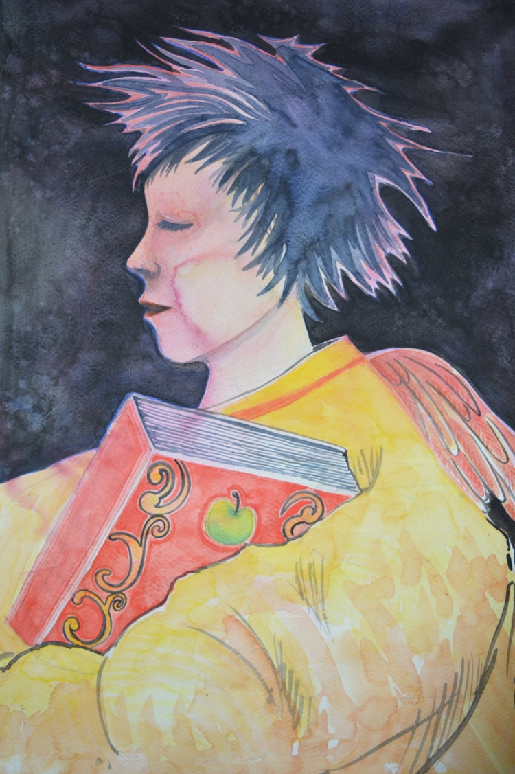Wisdom Watercolour progress - euric | ello