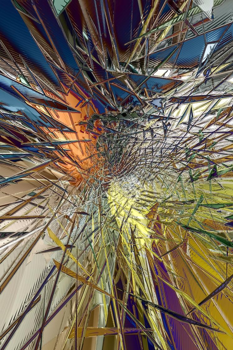 Impact Digital Art (detail) (de - sphericalart | ello