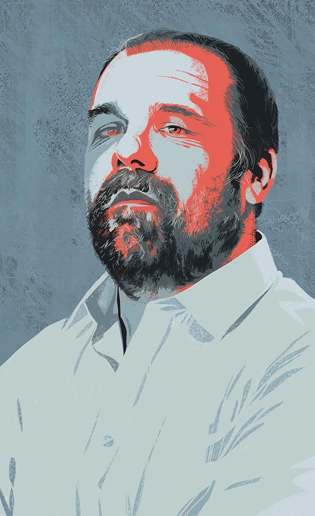 Portrait Massimo Banzi, Italian - canuivan | ello