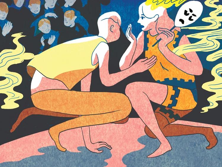Theater - illustration, markwang - vryaznorange | ello