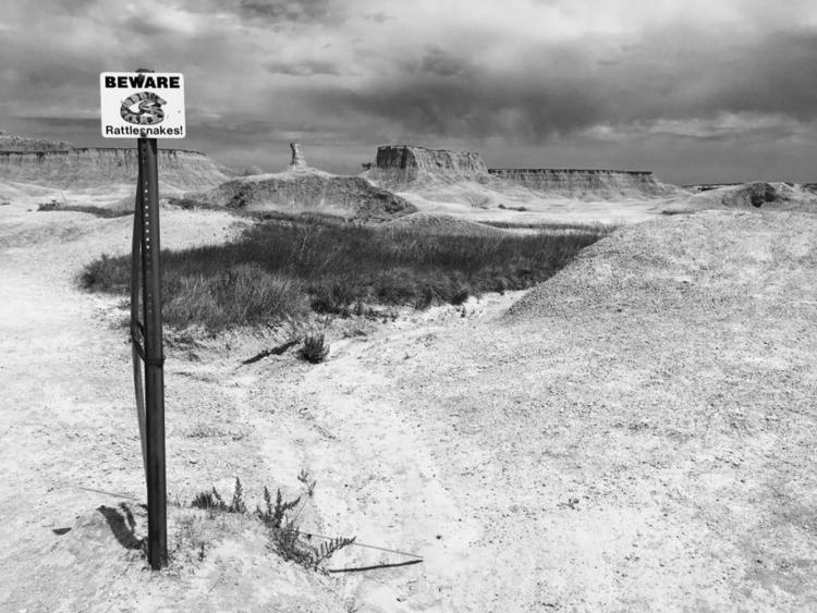Beware - Badlands, NationalParks - davidjdeal | ello