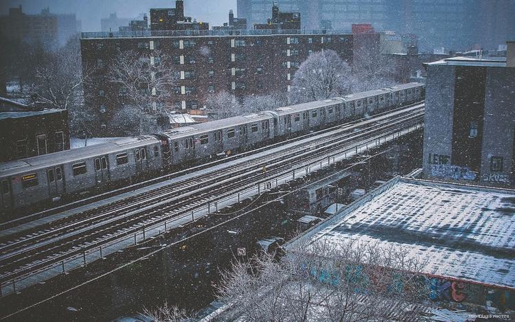 Brooklyn, NYC, Bushwick, snow - mikitakesphotos | ello