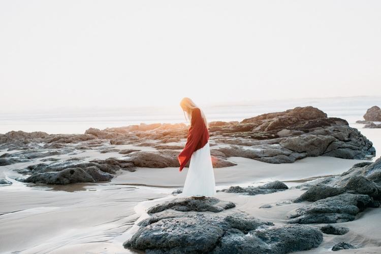 Sunkissed. Sunset Praia du Guin - saskiastolzlechner | ello