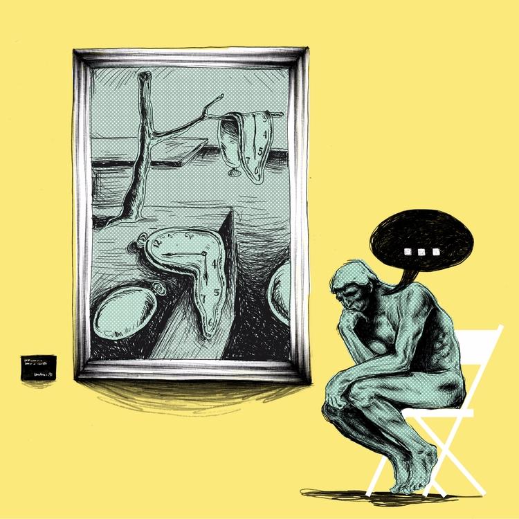 Understanding Art - illustration - dudeitsallama | ello