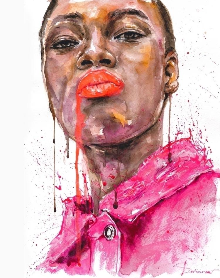MSGM SS18 - fashionillustration - ibreathart | ello