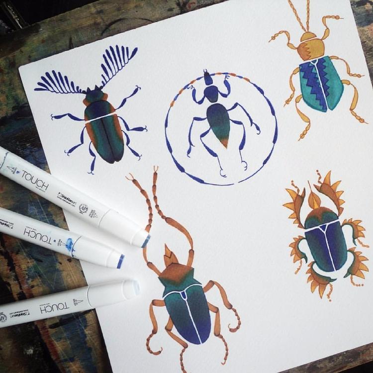 Bug tattoo design  - bugtattoo, tattoodesign - ernaart | ello