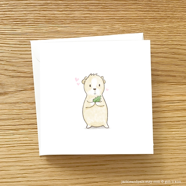 Meet friend Latte guinea pig Ja - gohlikim | ello