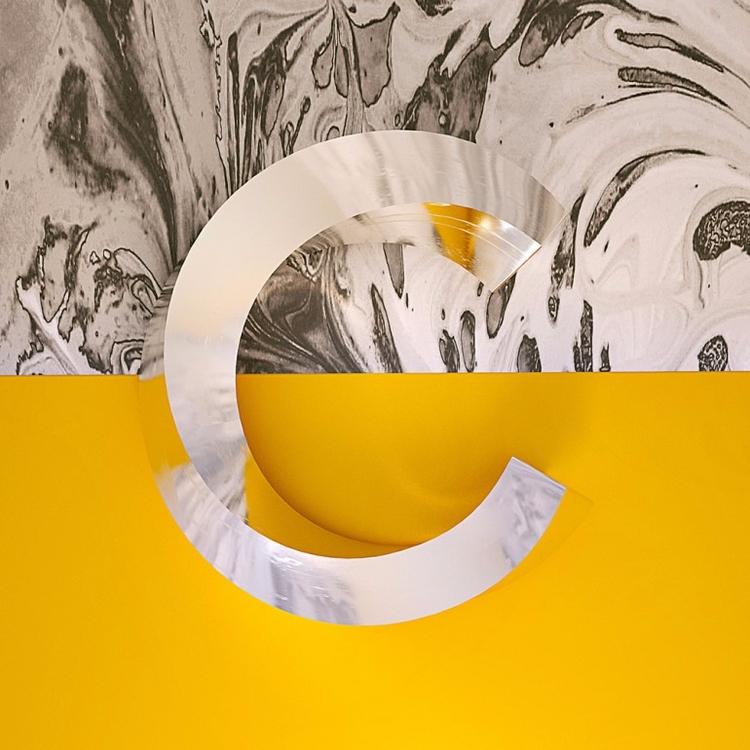 Chrome Type Aaron Kaufman - typography - paulearly   ello