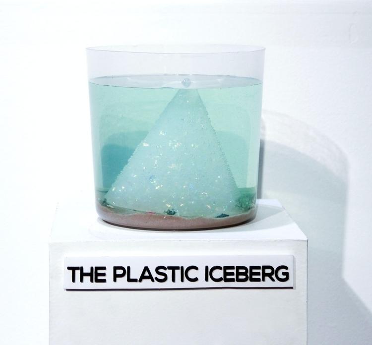 Plastic Iceberg representation  - jenhaugan | ello