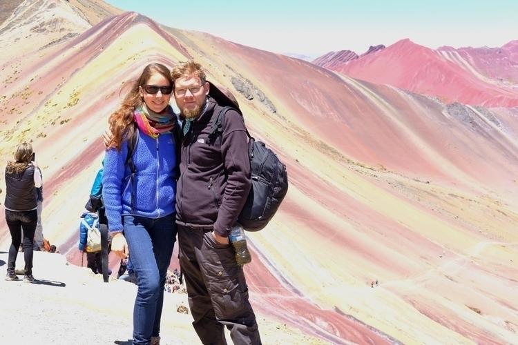Die Regenbogenberge bei Cusco  - weltfarben   ello