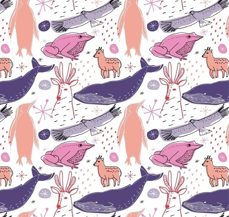 Patterns ilustrados para la mar - pirichi   ello