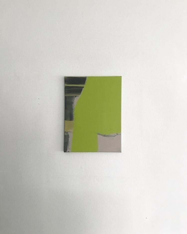 Acrylic canvas. 30cm 40cm - abstractpainting - ronvic   ello