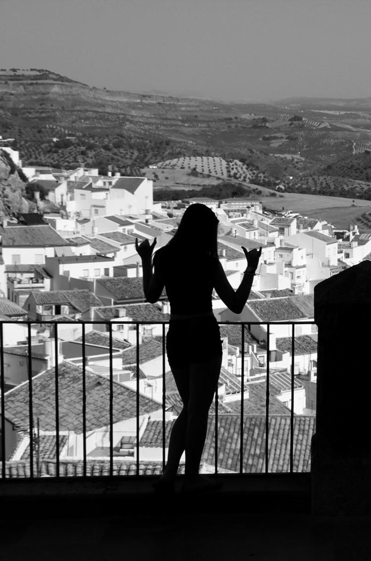 silhouette - female, pueblosblancos - tvila | ello
