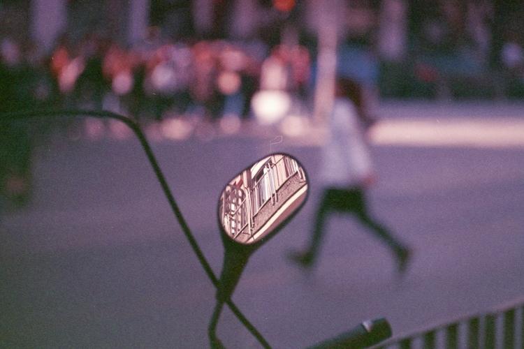 city mirror  - 0222., reflected - object-e | ello