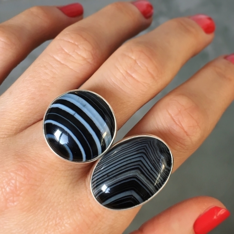 🖤 Agate Rings coming shop tomor - seagypsycollection | ello