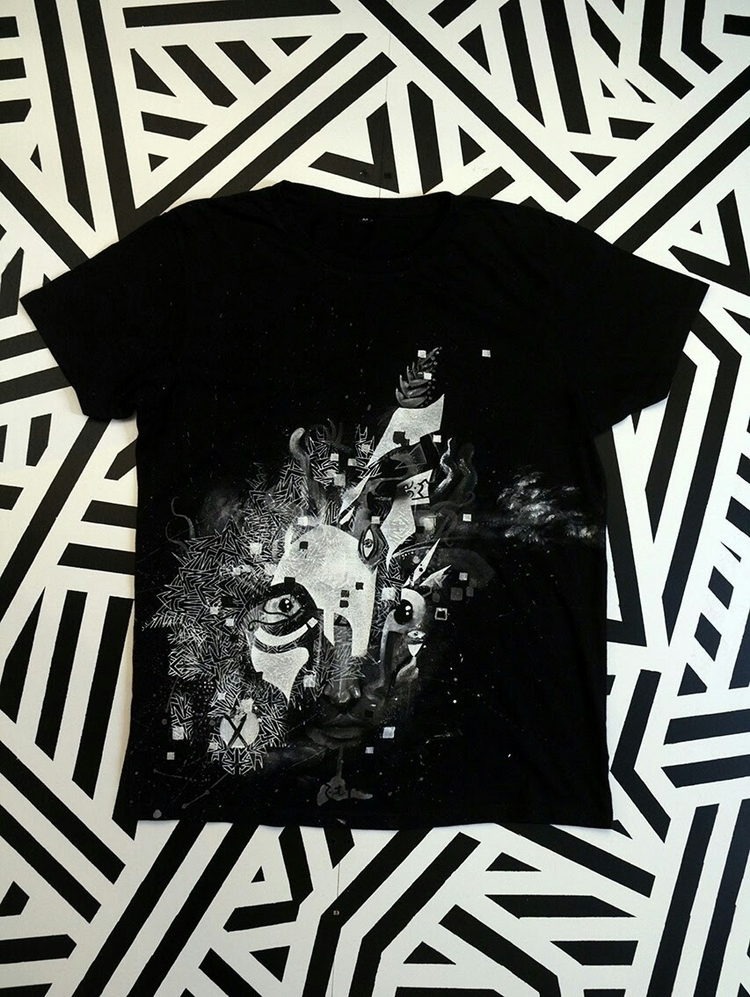 Tshirt created mix screen print - bodhikah | ello