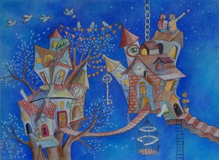 fourth drawing - altuniverse., magic - happyfamilyart | ello