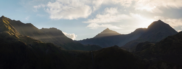 Mount Light / beautiful long su - andrewbrooks | ello