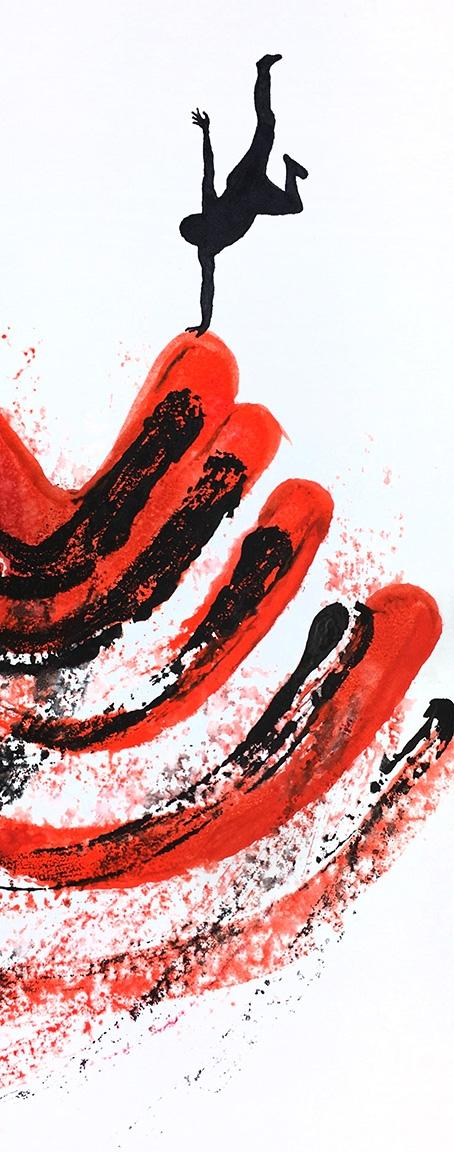 Purposeful Foundation day: ink  - robert_wente | ello