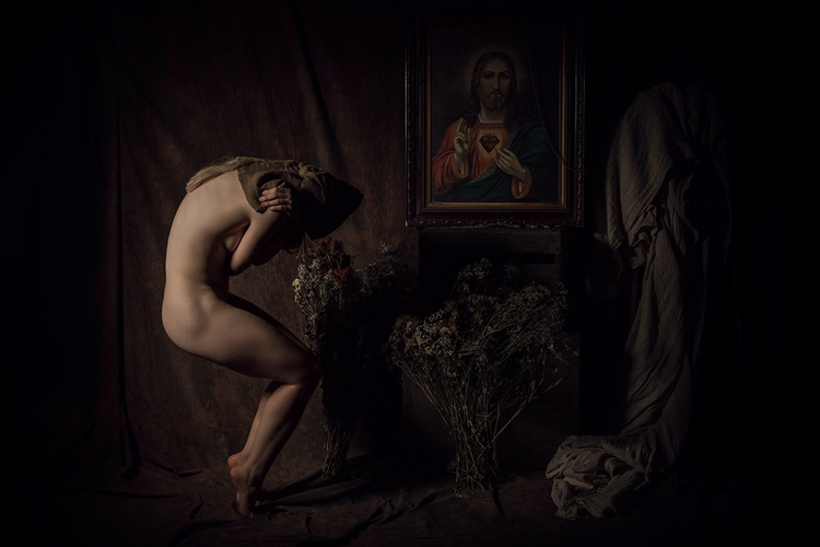 "Penitent"" — Art Director/Photog - darkbeautymag 