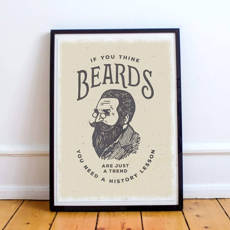 Beards Trend History Lesson pho - beardygraphics | ello