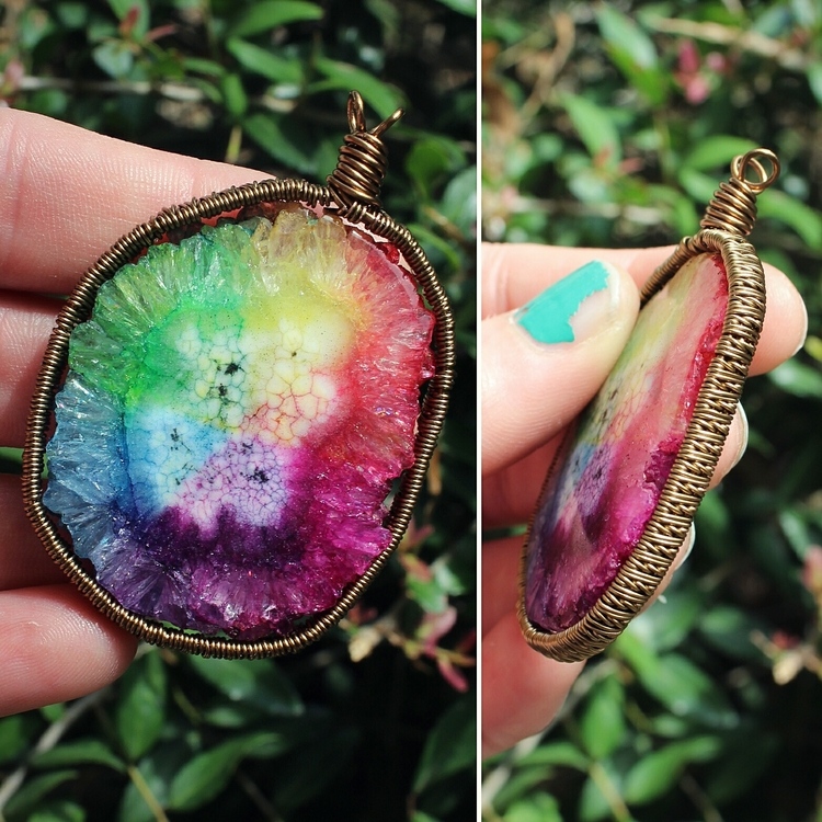 Solar Quartz wrap design! brigh - moongoddessvibes | ello