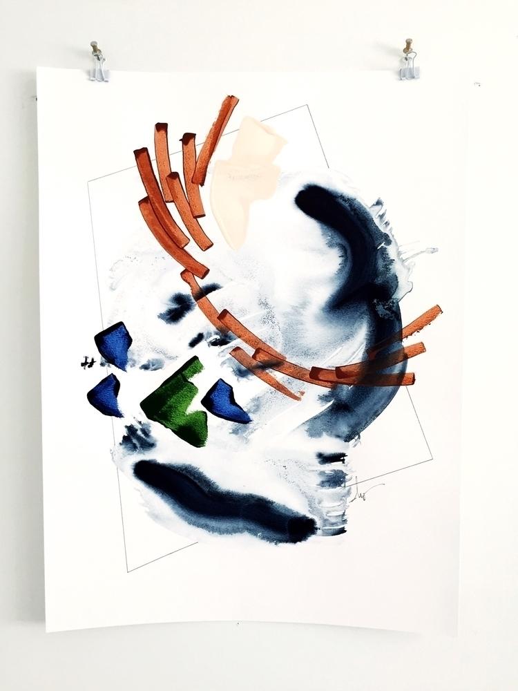 series titled Migration. surfac - ebw_artwork | ello