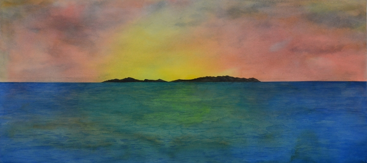 Island Watercolour - euric | ello