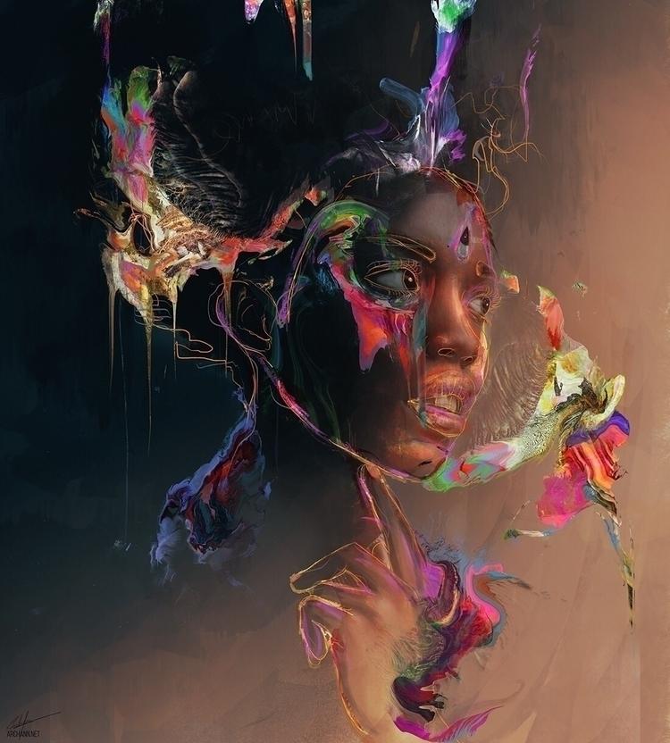 Sushupti - art, illustration, digitalart - archannair | ello