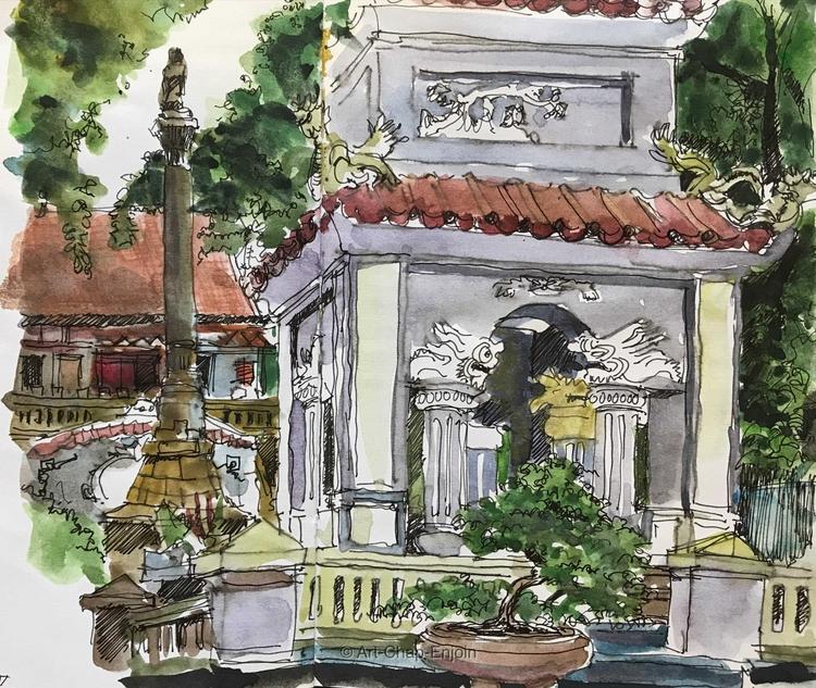 - King Le Thai monument bit tim - artchapenjoin | ello
