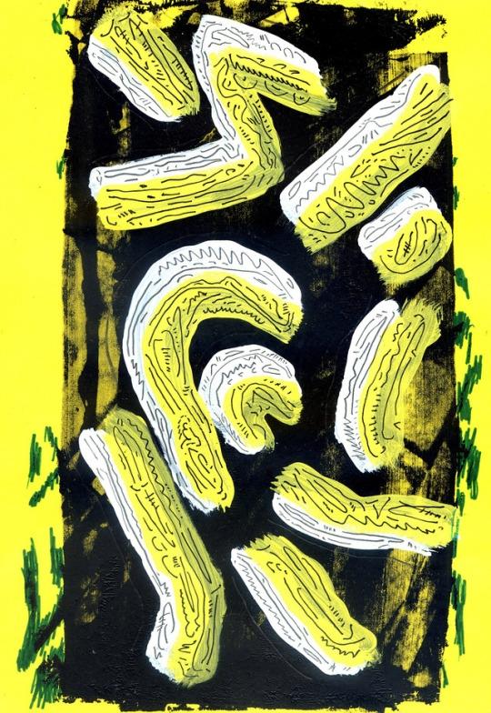 art - illustration, experimental - yvan-hydar | ello