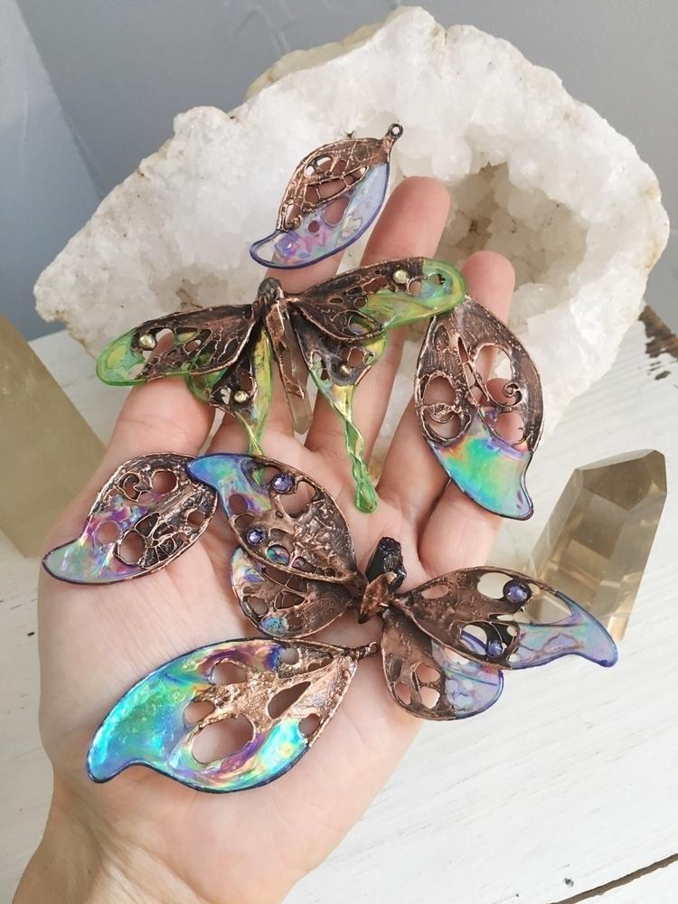 Pretty magickal, necklaces Foun - faerieblessings | ello