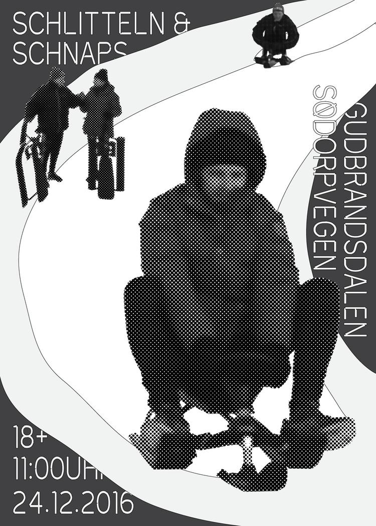 sledding dad christmas morning  - andersbakken | ello