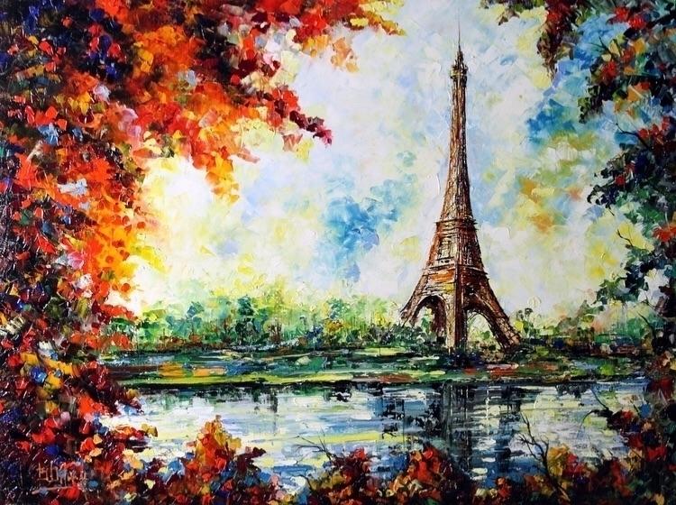 La Torre Di Parigi Bruno Oil Ca - bitfactory   ello