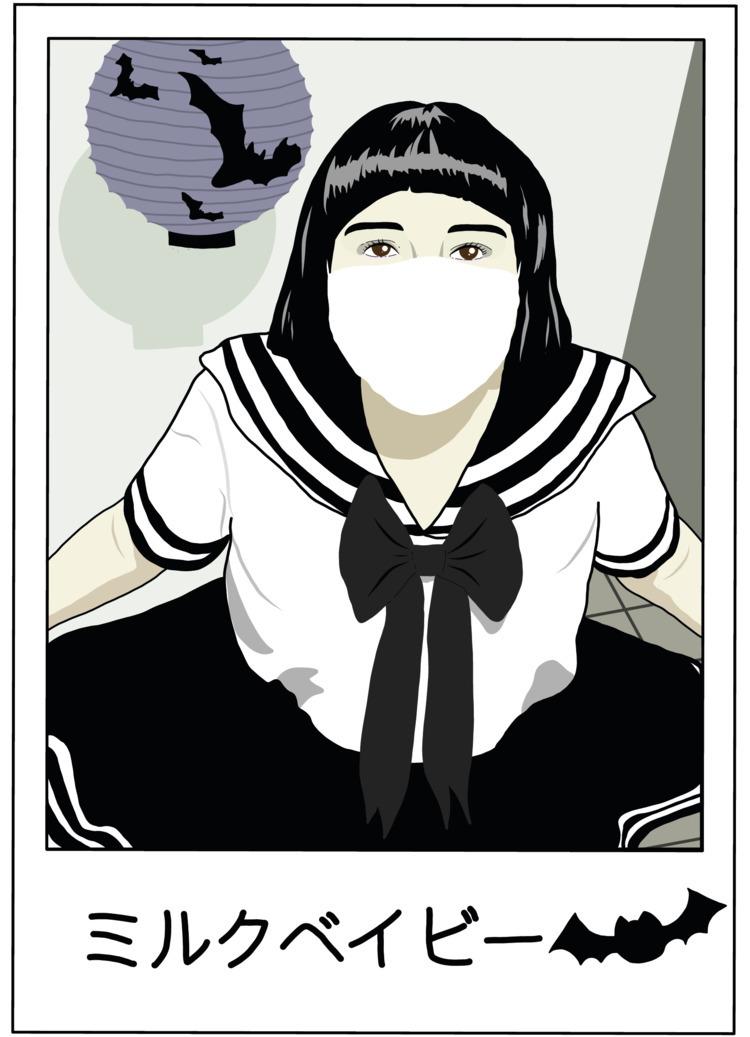 Milk Baby - kawaii, dark, anime - sadsadgirl | ello
