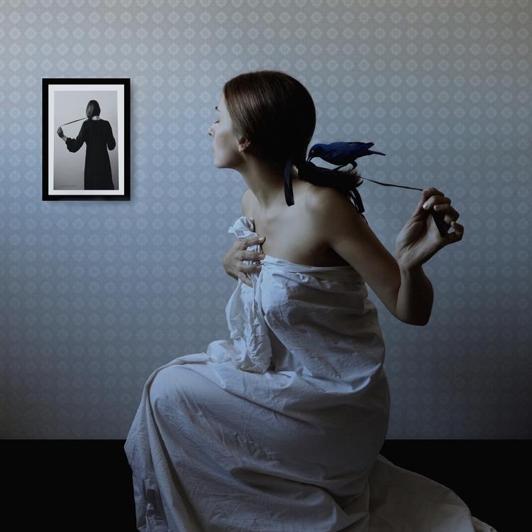 Ritratto bianco nero - Mattino  - montserratdiaz | ello