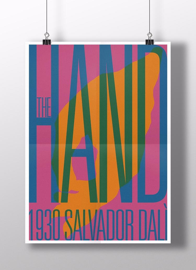 series typographic posters insp - cosdesign | ello