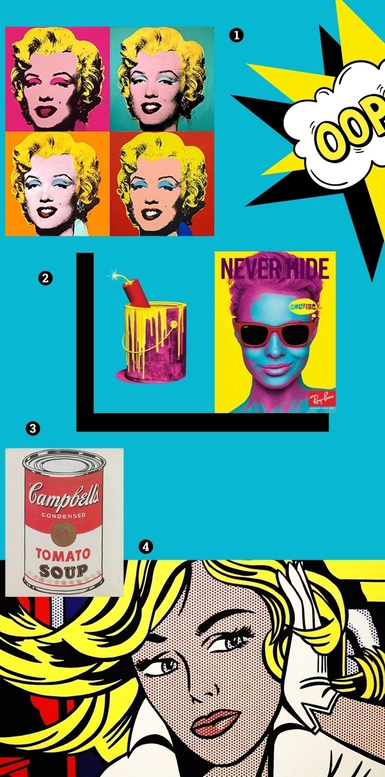 POP-ART MOODboard sztukauniwers - s_u_ | ello